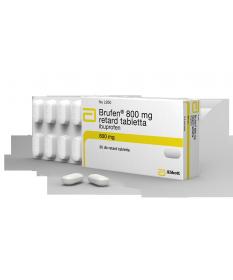 BRUFEN 800MG RETARD TABL. 30X  Tabletták 2,516.55 Dió patika online gyógyszertár internetes gyógyszerrendelés Budakeszi