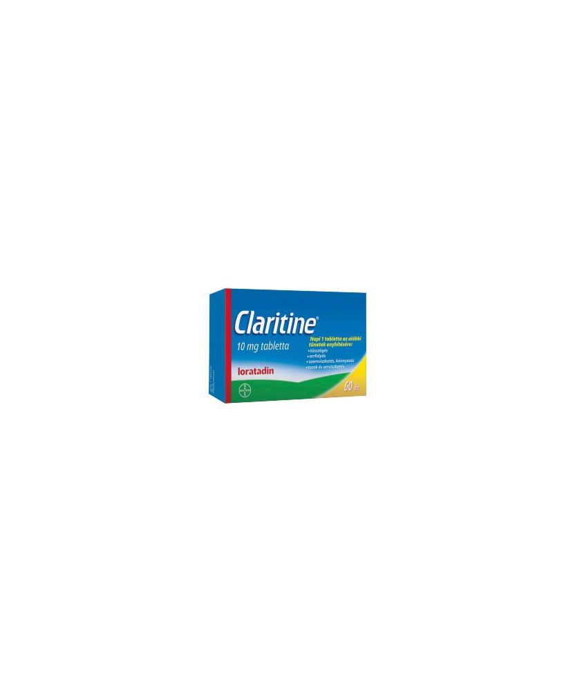 CLARITINE 10 MG TABLETTA 60X  Tabletták allergiára 3,742.05 Dió patika online gyógyszertár internetes gyógyszerrendelés Budak...