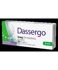 DASSERGO 5MG FILMTABL. 30X /ESRADIN/ Krka Tabletták allergiára 1,489.00 Dió patika online gyógyszertár internetes gyógyszerre...