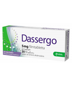DASSERGO 5MG FILMTABL. 30X /ESRADIN/ Krka Tabletták allergiára 2,070.05 Dió patika online gyógyszertár internetes gyógyszerre...