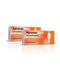 APRANAX DOLO 220MG FILMTABL. 20X  Tabletták 879Ft Dió patika online gyógyszertár internetes gyógyszerrendelés Budakeszi