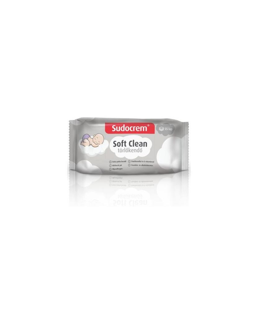 SUDOCREM SOFT CLEAN TORLOKENDO 55X  Termékkategóriák 499Ft Dió patika online gyógyszertár internetes gyógyszerrendelés Budak...