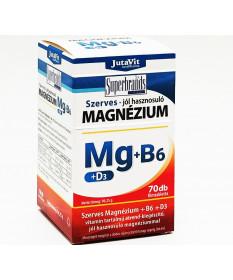 JUTAVIT SZERVES MAGNEZIUM+B6+D3 TABLETTA 70X JutaVit Termékkategóriák 1,379.00 Dió patika online gyógyszertár internetes gyóg...