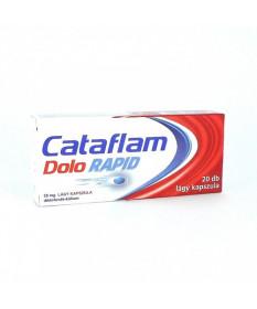 CATAFLAM DOLO RAPID 25MG LAGY KAPSZ. 20X GlaxoSmithKline Tabletták 2,179.00 Dió patika online gyógyszertár internetes gyógysz...