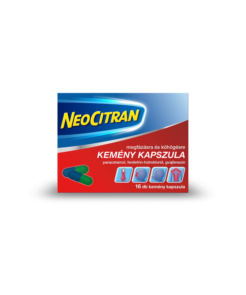 NEO CITRAN MEGFAZASRA+KOHOGESRE KEM.KAPSZ. 16X Novartis Tabletták náthára 1,599.00 Dió patika online gyógyszertár internetes ...