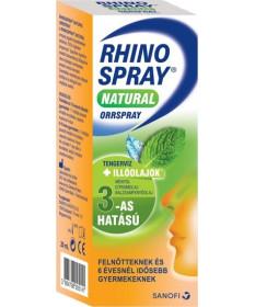 RHINOSPRAY NATURAL ORRSPRAY 20ML Sanofi Orrspray 2,139.00 Dió patika online gyógyszertár internetes gyógyszerrendelés Budakeszi