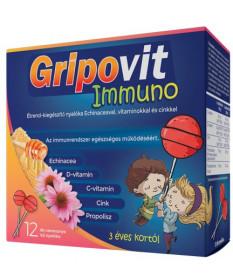GRIPOVIT IMMUNO NYALOKA 12X  Vitaminok és Nyomelemek  2,055.29 Dió patika online gyógyszertár internetes gyógyszerrendelés Bu...
