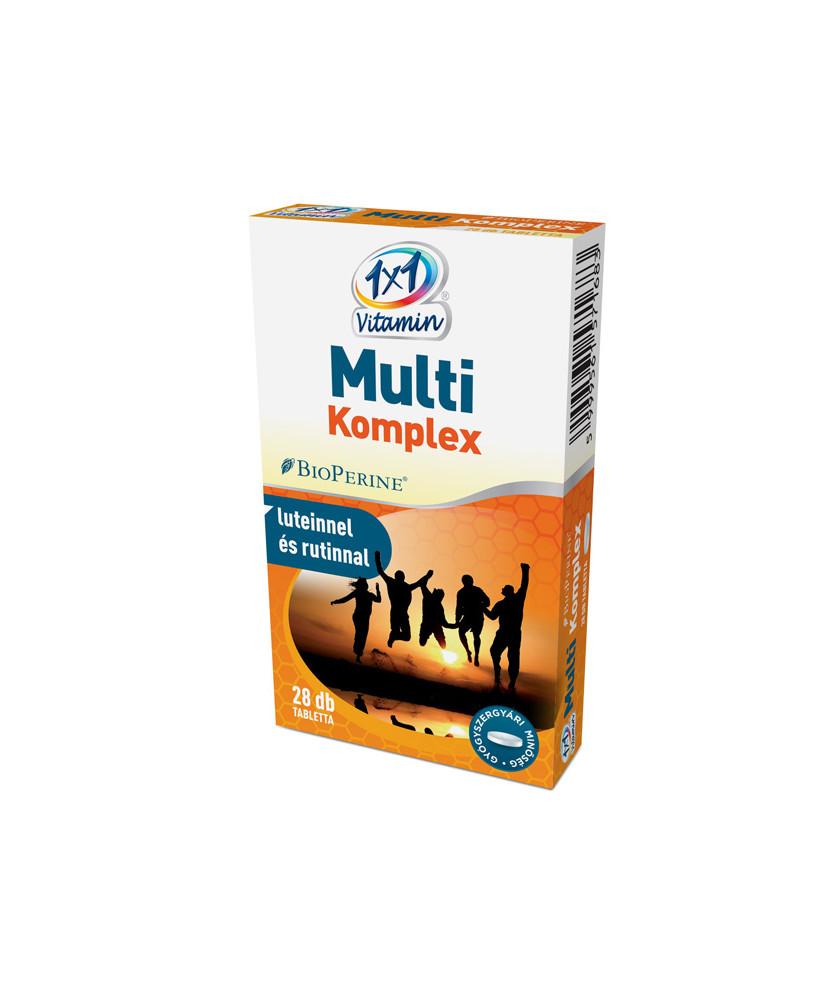 VITAPLUS 1X1 MULTIKOMPLEX+BIOPERIN FILMTABL. 28X  Termékkategóriák 969Ft Dió patika online gyógyszertár internetes gyógyszer...