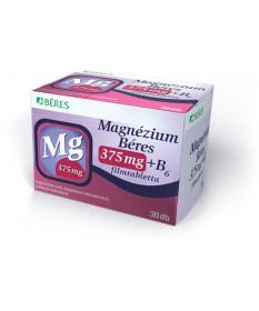 MAGNEZIUM BERES 375MG+B6 FILMTABL. 30X Béres Vitaminok és Nyomelemek  1,879.00 Dió patika online gyógyszertár internetes gyóg...