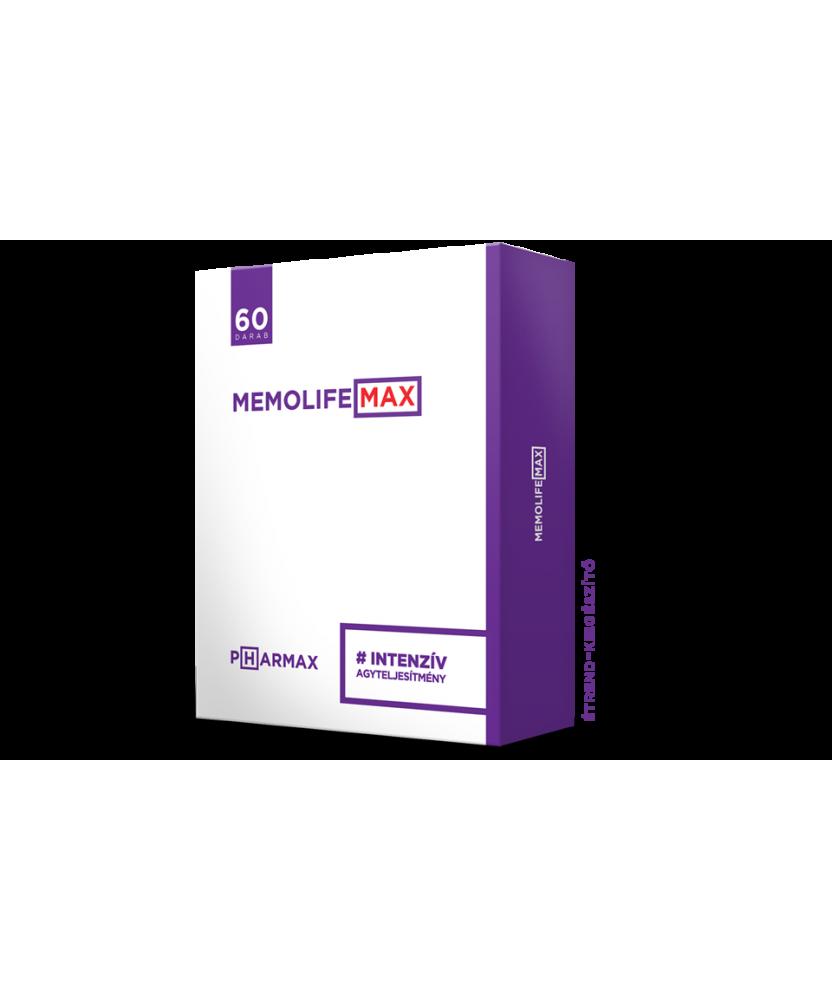 MEMOLIFE MAX KAPSZULA 60X  Vitaminok és Nyomelemek  2,699.00 Dió patika online gyógyszertár internetes gyógyszerrendelés Buda...