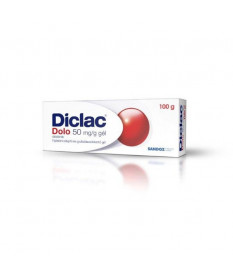 DICLAC DOLO 50MG/G GEL 100G Sandoz Termékkategóriák 2,259.00 Dió patika online gyógyszertár internetes gyógyszerrendelés Buda...
