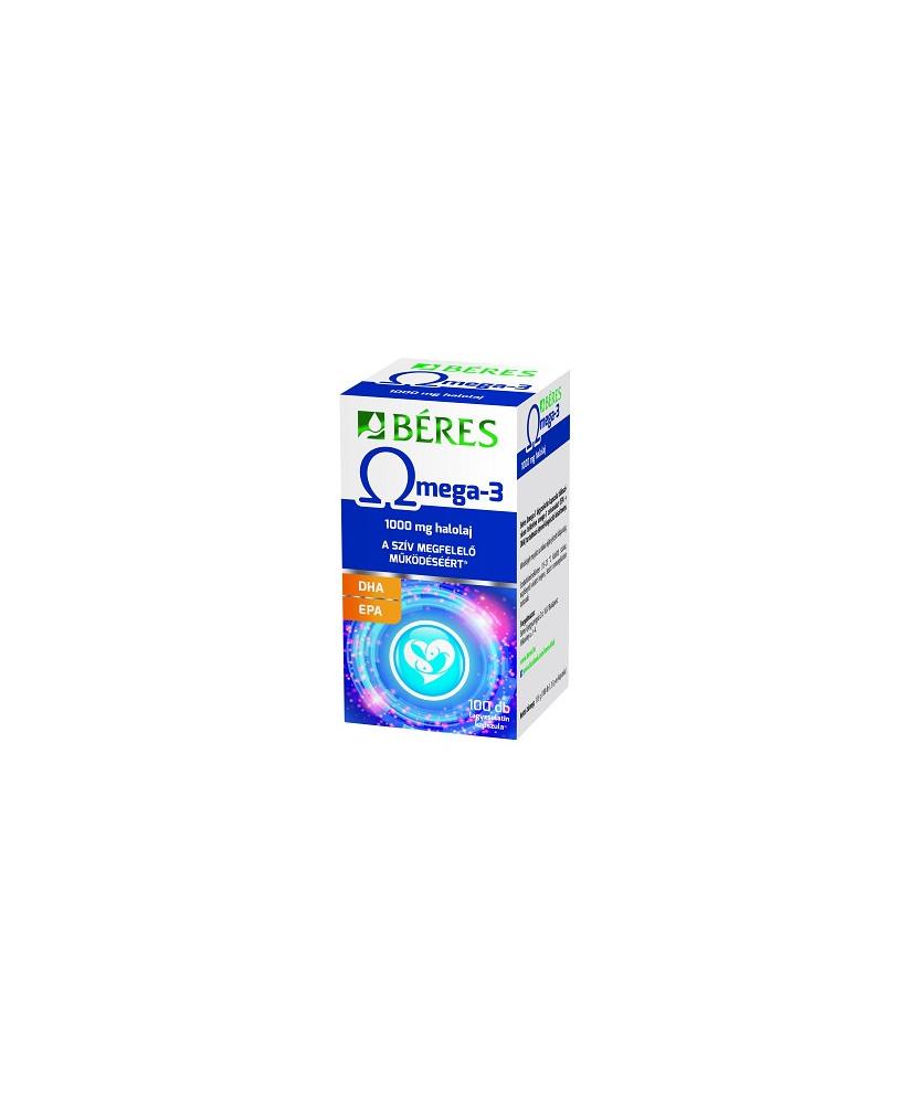 BERES OMEGA-3 LAGYZSELATIN KAPSZ. 100X  Vitaminok és Nyomelemek  2,446.28 Dió patika online gyógyszertár internetes gyógyszer...