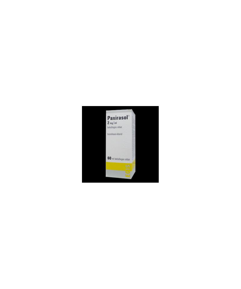 PAXIRASOL 2 MG/ML BELS.OLD.  60 ML  Köptetők és köhögéscsillapítók 516Ft Dió patika online gyógyszertár internetes gyógyszer...
