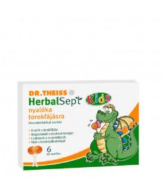 DR THEISS HERBALSEPT NYALOKA TOROKFAJASRA 6X  Köptetők és köhögéscsillapítók 1,268.68 Dió patika online gyógyszertár internet...