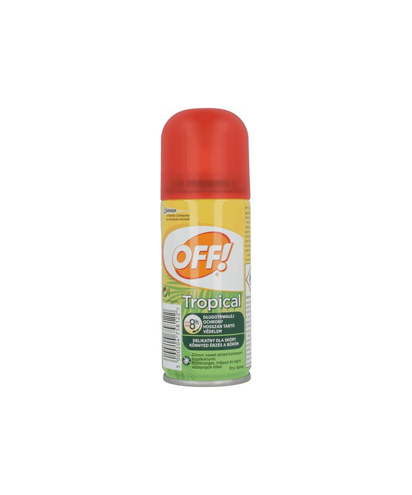OFF TROPICAL SZARAZ SPRAY 100ML  Kullancsriasztók 1,547.44 Dió patika online gyógyszertár internetes gyógyszerrendelés Budakeszi
