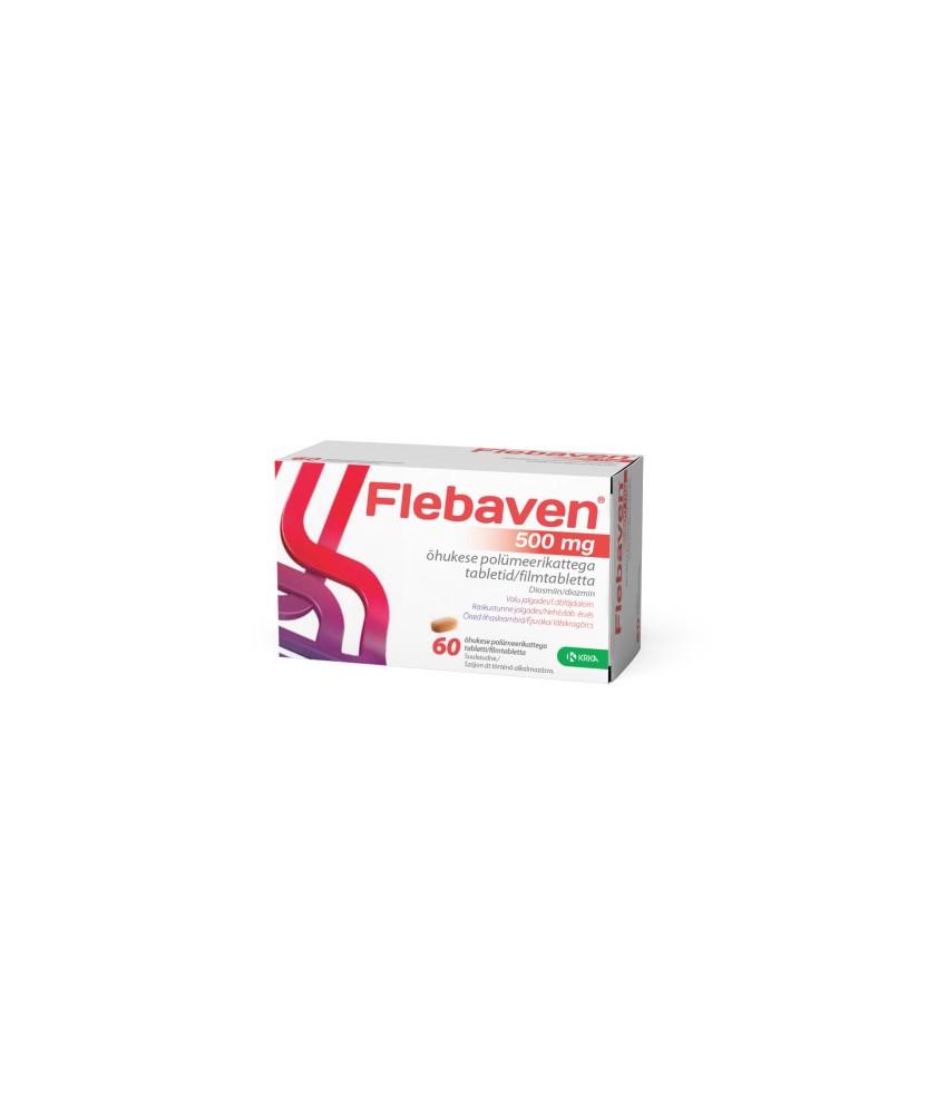 FLEBAVEN 500MG FILMTABL. 60X  Szív és Érrendszer 3,798.68 Dió patika online gyógyszertár internetes gyógyszerrendelés Budakeszi