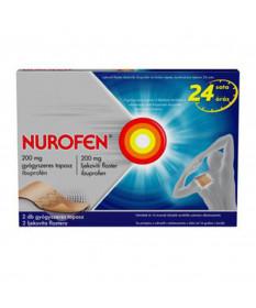 NUROFEN 200 MG GYOGYSZERES TAPASZ 2X  Kenőcsök és tapaszok 2,535.55 Dió patika online gyógyszertár internetes gyógyszerrendel...