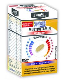 JUTAVIT MULTIVITAMIN FELN.NYUJT.FILMTBL. 100X JutaVit Vitaminok és Nyomelemek  2,877.55 Dió patika online gyógyszertár intern...