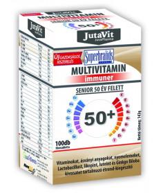 JUTAVIT MULTIVIT.SENIOR 50+ FTB. 100X JutaVit Vitaminok és Nyomelemek  2,877.55 Dió patika online gyógyszertár internetes gyó...