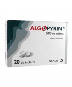 ALGOPYRIN 500 MG TABL. 20X  Tabletták 1,718.55 Dió patika online gyógyszertár internetes gyógyszerrendelés Budakeszi