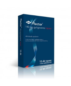 FLECTOR 140MG GYOGYSZ.TAPASZ 10X+2 CSOKOTSZER  Kenőcsök és tapaszok 5,271.55 Dió patika online gyógyszertár internetes gyógys...