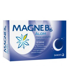 MAGNE B6 ALOM KAPSZULA 30X Sanofi Altatók/ Nyugatók 1,424.04 Dió patika online gyógyszertár internetes gyógyszerrendelés Buda...