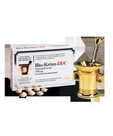 PHARMANORD BIO-KROM DIA TABLETTA 60X PharmaNord Vitaminok és Nyomelemek  4,279.00 Dió patika online gyógyszertár internetes g...