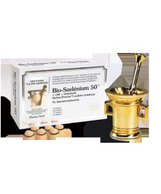 PHARMANORD BIO-SZELENIUM 50+ZN+VIT TBL 60X PharmaNord Vitaminok és Nyomelemek  3,333.55 Dió patika online gyógyszertár intern...