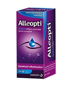 ALLEOPTI 20MG/ML OLDATOS SZEMCSEPP 1X10ML Sanofi Allergia szemcseppek 1,357.55 Dió patika online gyógyszertár internetes gyóg...