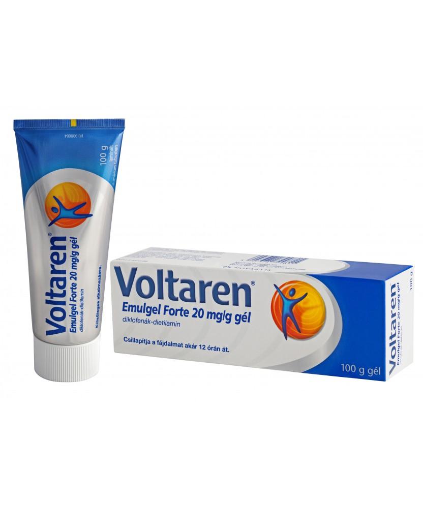 VOLTAREN EMULGEL FORTE 20MG/G GEL 1X100G Novartis Kenőcsök és tapaszok 3,609.05 Dió patika online gyógyszertár internetes gyó...
