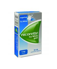 NICORETTE ICY WHITE GUM 4MG GYOGYSZ.RAGOG. 30X  Dohányzásról való leszokást segítő termékek 2,119.01 Dió patika online gyógys...