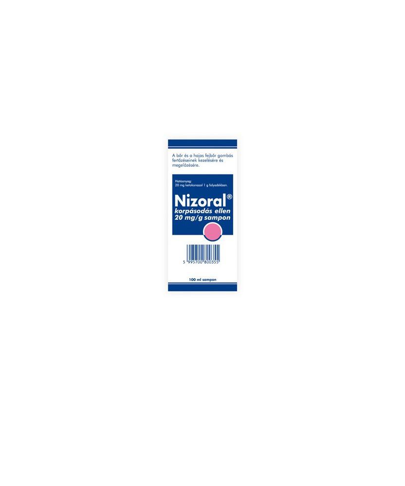 NIZORAL KORPASODAS ELLEN 20MG/G SAMPON 100ML  Samponok 2,979.00 Dió patika online gyógyszertár internetes gyógyszerrendelés B...