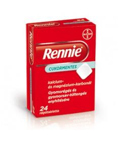 RENNIE CUKORMENTES RAGOTABL. 24X Bayer Gyomorégés 978Ft Dió patika online gyógyszertár internetes gyógyszerrendelés Budakeszi