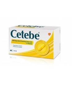 CETEBE 500MG RETARD KEMENY KAPSZULA 30X GlaxoSmithKline Vitaminok és Nyomelemek  1,585.55 Dió patika online gyógyszertár inte...