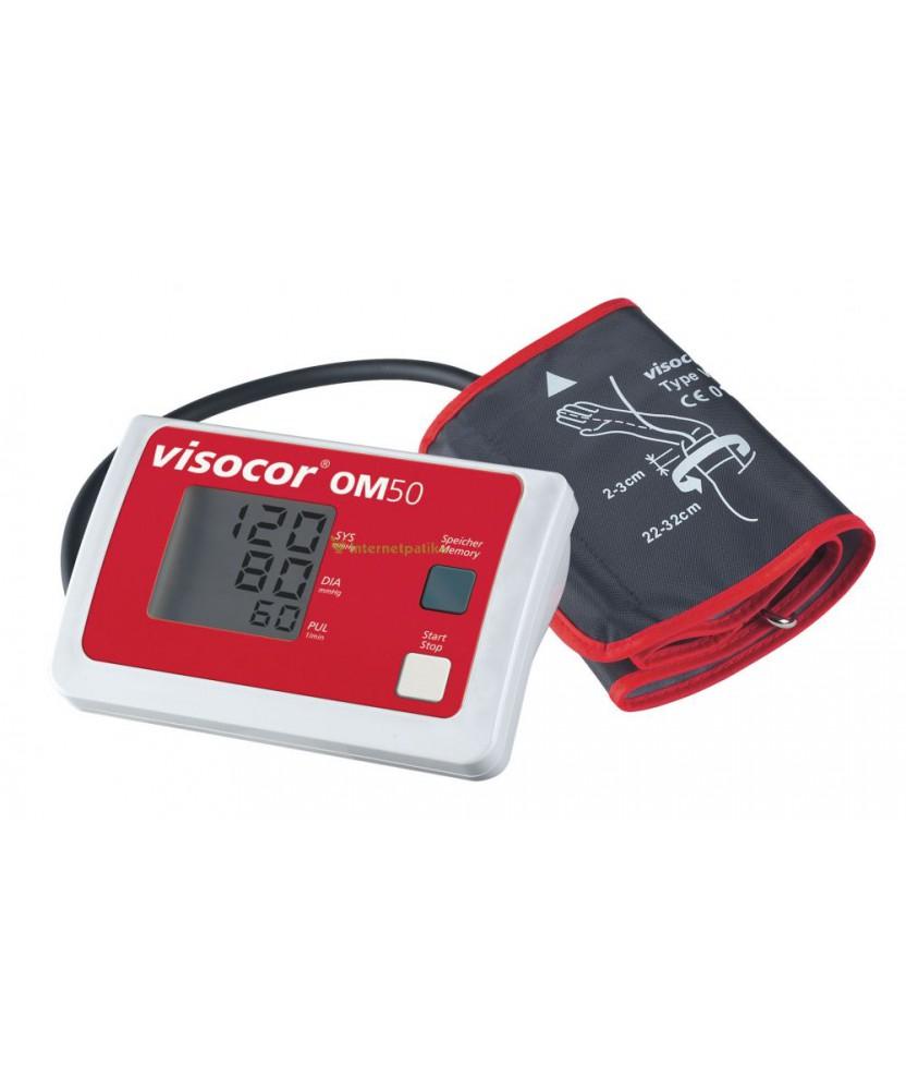 VISOCOR OM50 VERNYOMASMERO FELKEROS PIROS 1X  Vérnyomásmérők 11,089.01 Dió patika online gyógyszertár internetes gyógyszerren...