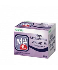 BERES MAGNEZIUM 250 MG+B6 FILMTABL. 30X Béres Vitaminok és Nyomelemek  1,110.55 Dió patika online gyógyszertár internetes gyó...