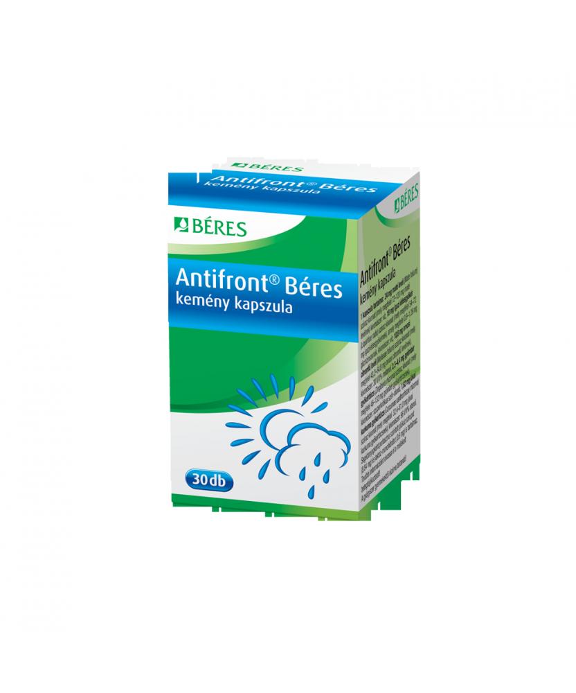 BERES ANTIFRONT HERBAL KAPSZ. 30X Béres Gyógynövény alapú készítmények 1,747.05 Dió patika online gyógyszertár internetes gyó...