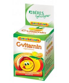 BERES C VITAMIN RAGOTBL.GYEREK 30X Béres Vitaminok és Nyomelemek  845Ft Dió patika online gyógyszertár internetes gyógyszerr...