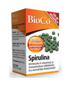 BIOCO BIO SPIRULINA KAPSZULA 200X BioCo Vitaminok és Nyomelemek  2,402.55 Dió patika online gyógyszertár internetes gyógyszer...