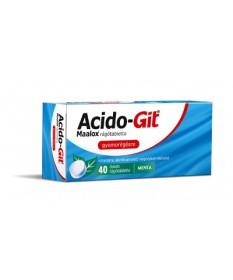 ACIDO-GIT MAALOX RAGOTABL. 40X Sanofi Gyomorégés 1,376.55 Dió patika online gyógyszertár internetes gyógyszerrendelés Budakeszi
