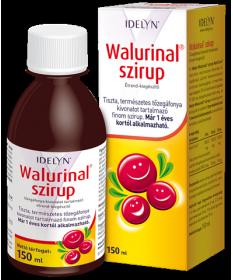 WALMARK WALURINAL SZIRUP 150ML Walmark Gyógynövény alapú készítmények 2,906.05 Dió patika online gyógyszertár internetes gyóg...