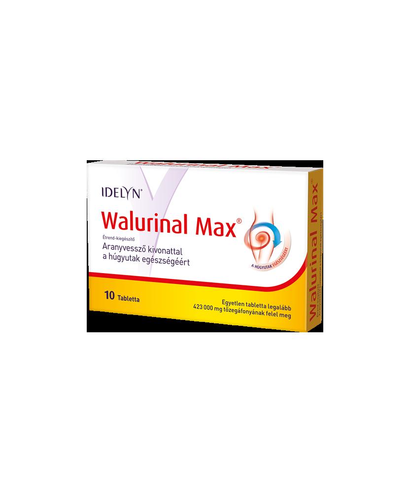 WALMARK WALURINAL MAX 36MG+ARANYVESSZO TABL. 10X Walmark Gyógynövény alapú készítmények 2,412.05 Dió patika online gyógyszert...