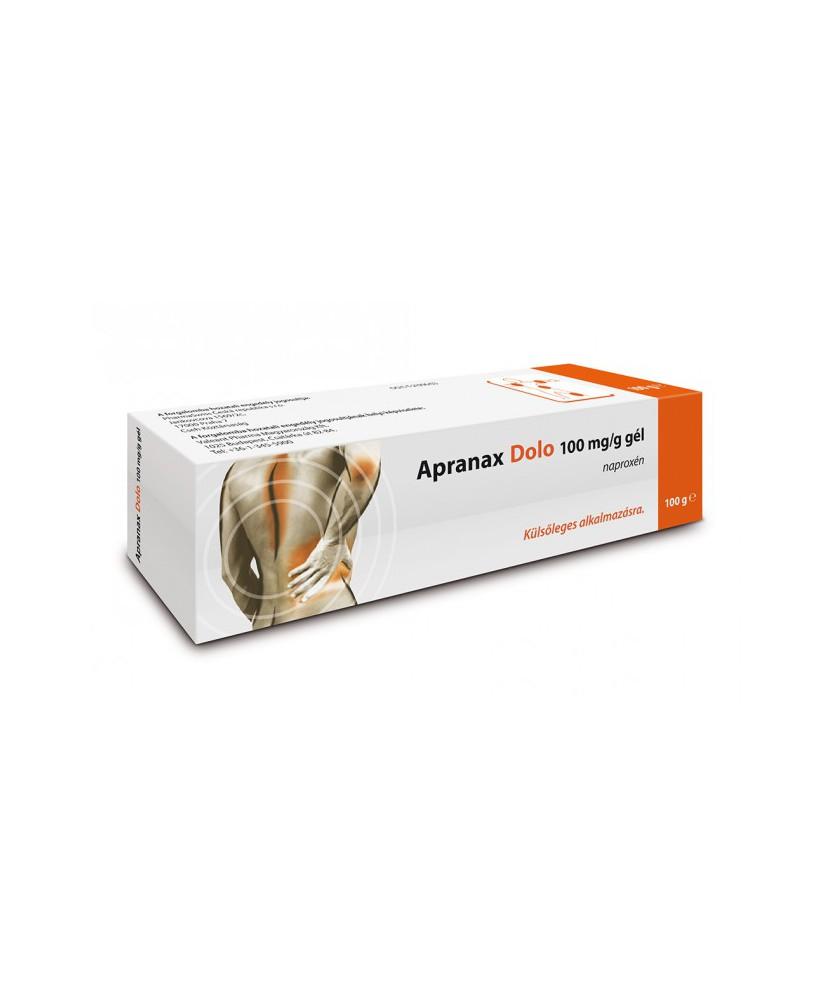 APRANAX DOLO 100MG/G GEL 1X100G  Kenőcsök és tapaszok 1,889.00 Dió patika online gyógyszertár internetes gyógyszerrendelés Bu...