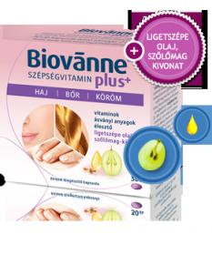BIOVANNE PLUS SZEPSEG VITAMIN KAPSZ 30X  Szépség tabletták 2,079.55 Dió patika online gyógyszertár internetes gyógyszerrendel...
