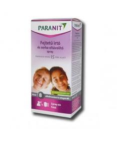 PARANIT FEJTETU RIASZTO SPRAY 100ML  Tetű, rüh és kullancs elleni készítmények 2,925.05 Dió patika online gyógyszertár intern...