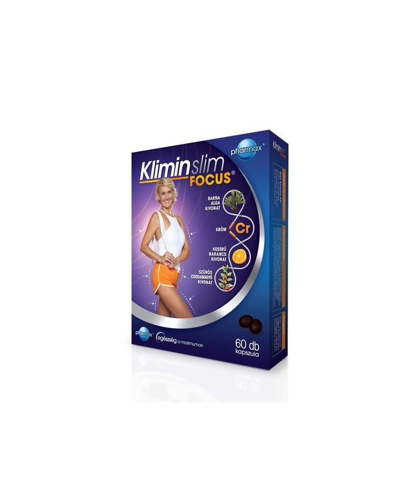 KLIMIN SLIM FOCUS KAPSZULA 60X  Fogyókúrát segítő termékek 3,259.00 Dió patika online gyógyszertár internetes gyógyszerrendel...