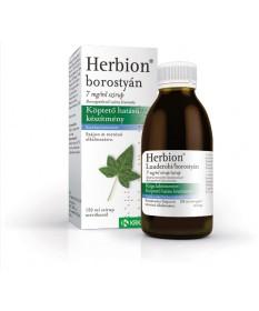 HERBION BOROSTYAN 7MG/ML SZIRUP 1X150ML Krka Köptetők és köhögéscsillapítók 1,481.05 Dió patika online gyógyszertár internete...