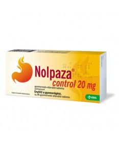 NOLPAZA CONTROL 20MG GYNEDV.ELL.TABL. 14X Krka Gyomorégés 1,224.55 Dió patika online gyógyszertár internetes gyógyszerrendelé...