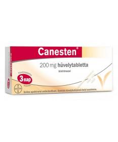 CANESTEN 200MG HUVELYTABL. 3X Bayer Hüvelyi fertőzések 2,136.55 Dió patika online gyógyszertár internetes gyógyszerrendelés B...