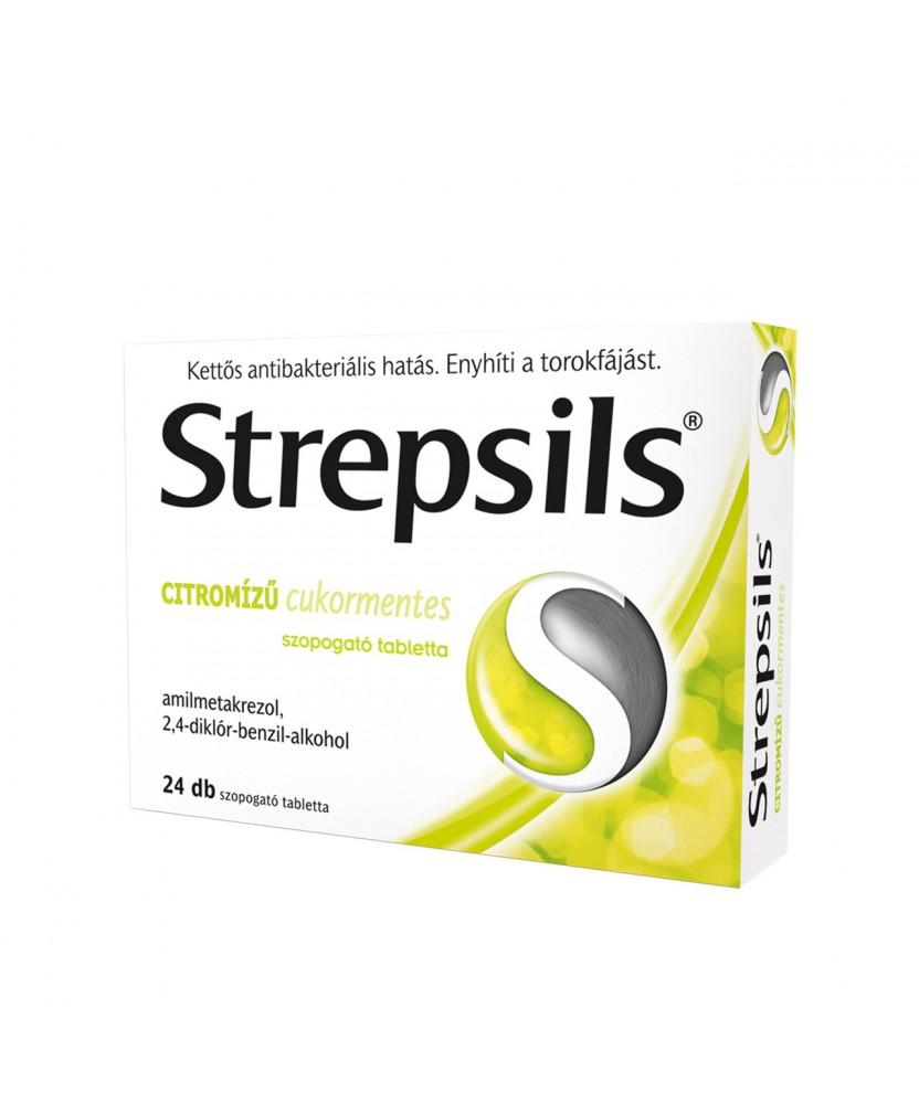 STREPSILS CITROMIZU CUKORMENTES SZOP.TABL. 24X  Allergia és nátha 1,718.55 Dió patika online gyógyszertár internetes gyógysze...